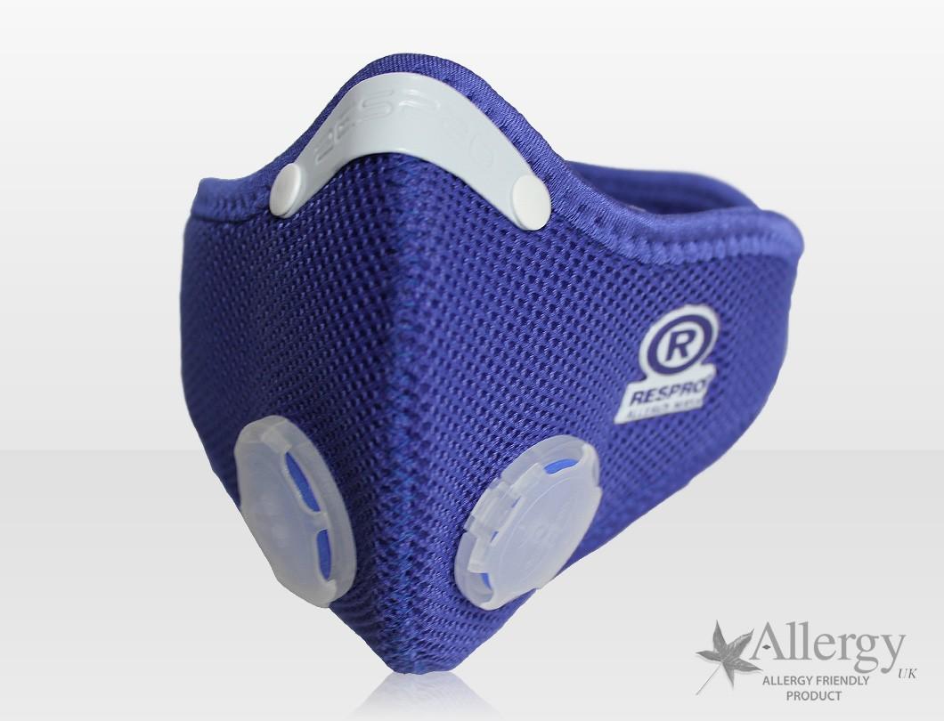 Allergy légszûrõ Maszk - kék - XL