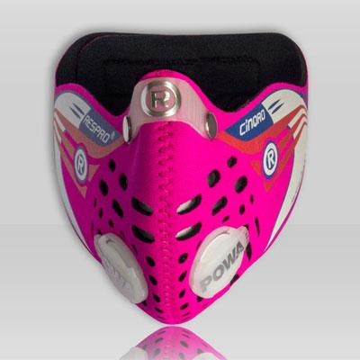 Respro CINQRO maszk - rózsaszín - M-es