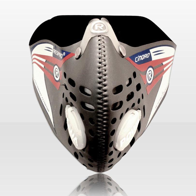 Respro CINQRO maszk - ezüst - XL