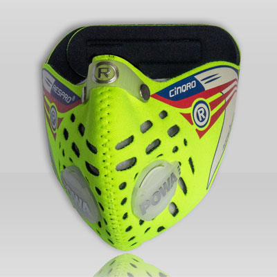 Respro CINQRO légszûrõ maszk - sárga - M