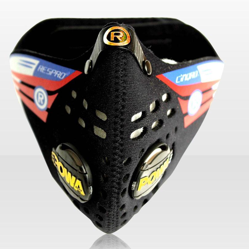 Respro CINQRO légszûrõ maszk - Fekete - M