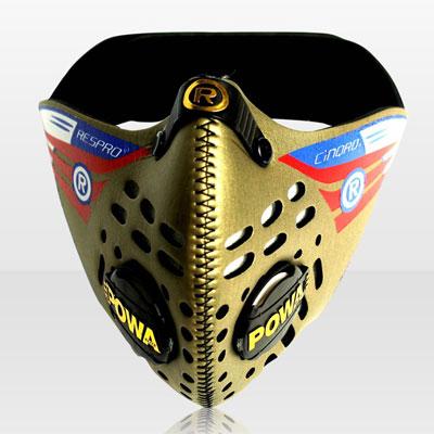 Respro CINQRO maszk - arany - L-es