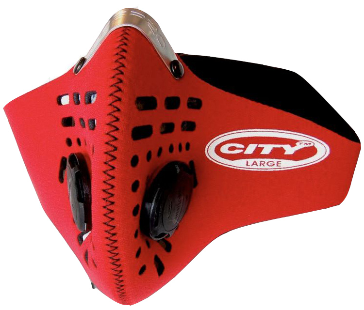 City légszûrõ maszk - piros - M