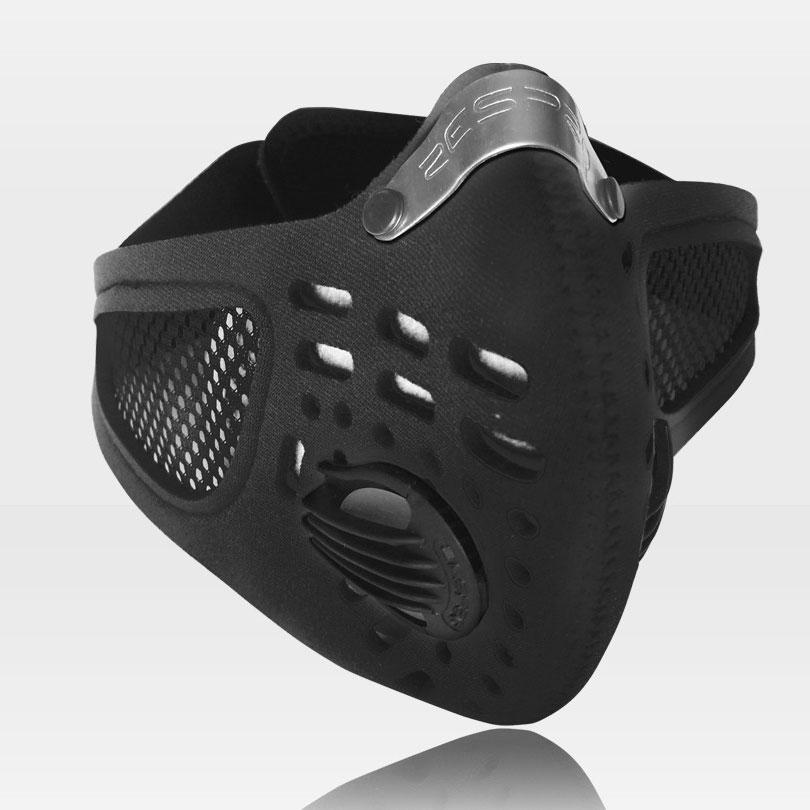 Sport légszûrõ maszk - fekete - XL