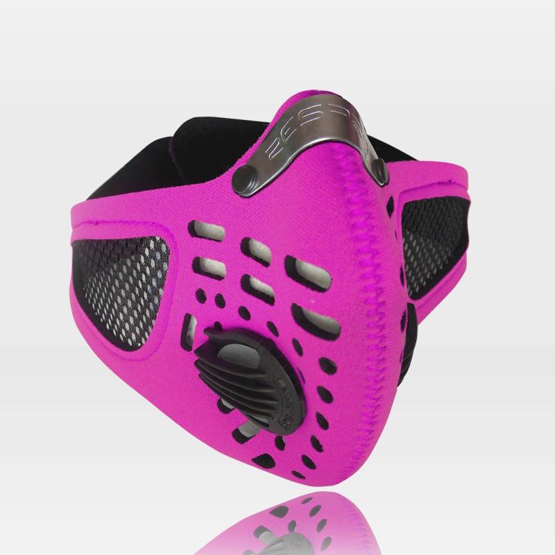 Sport légszûrõ maszk - pink - M
