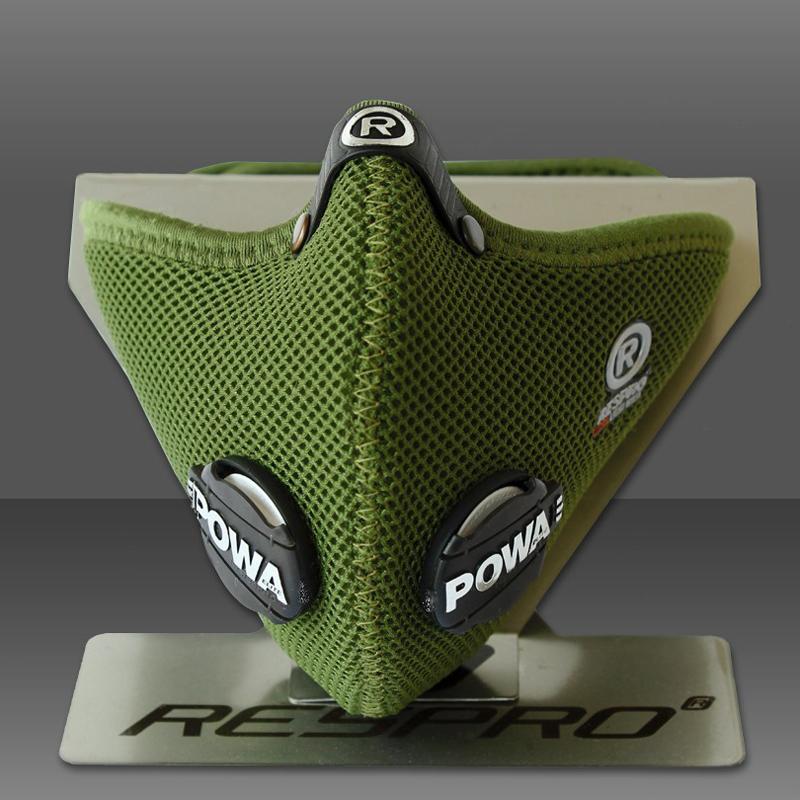 Ultralight légszûrõ maszk - zöld - M