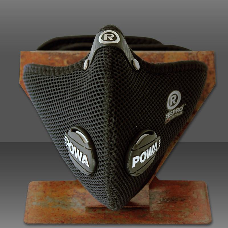 Ultralight légszûrõ maszk - fekete - XL